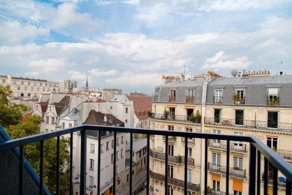 vue toits de Paris