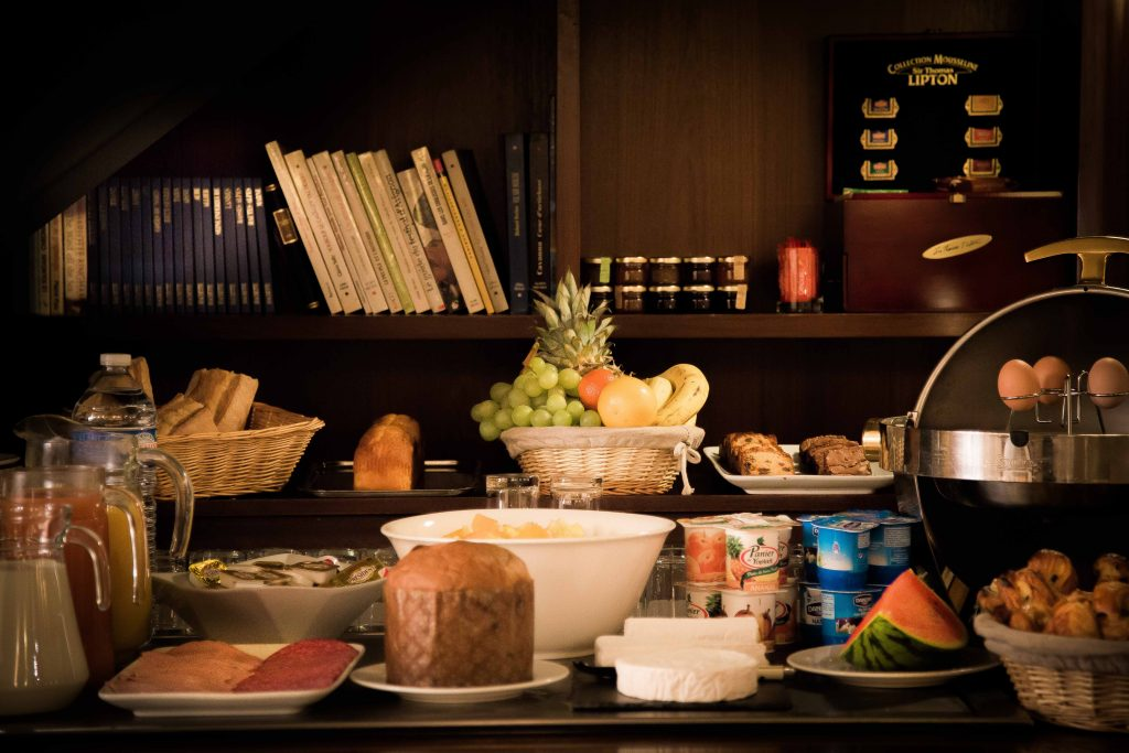 petit-déjeuner détail buffet