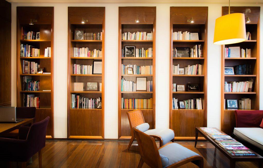 bibliothèque vue 2