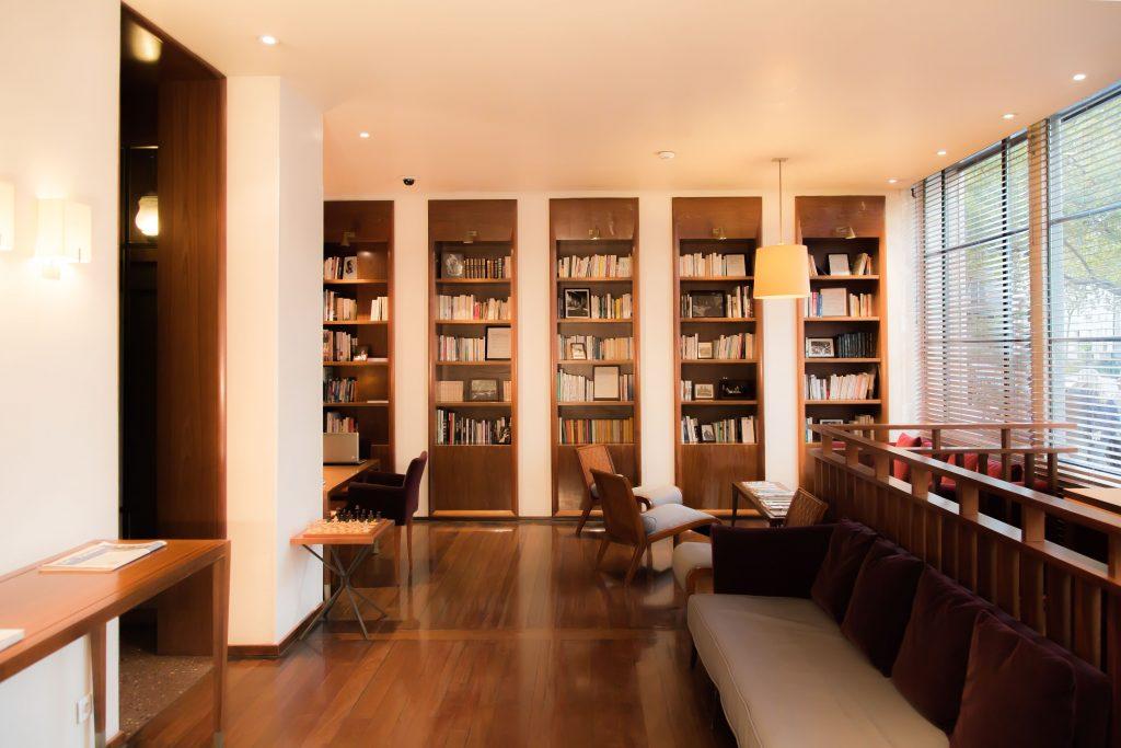 bibliothèque vue 1